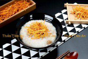 Cháo - Món ăn dễ chế biến từ Đông Trùng Hạ Thảo