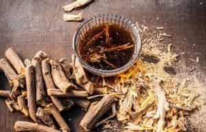 Uống trà cam thảo tốt cho sức khỏe