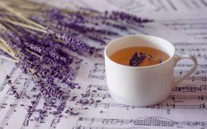 Uống nước trà hoa oải hương giúp dễ ngủ